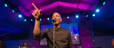 Tyrese Gibson performs at the 2016 Art For Life Benefit, presented by Russell Simmons' RUSH Philanthropic Arts Foundation, at Fairview Farms, on Saturday, July 16, 2016, in Water Mill, New York. (Photo by Scott Roth/Invision/AP)