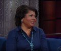 April Ryan Appears on Late Show with Stephen Colbert