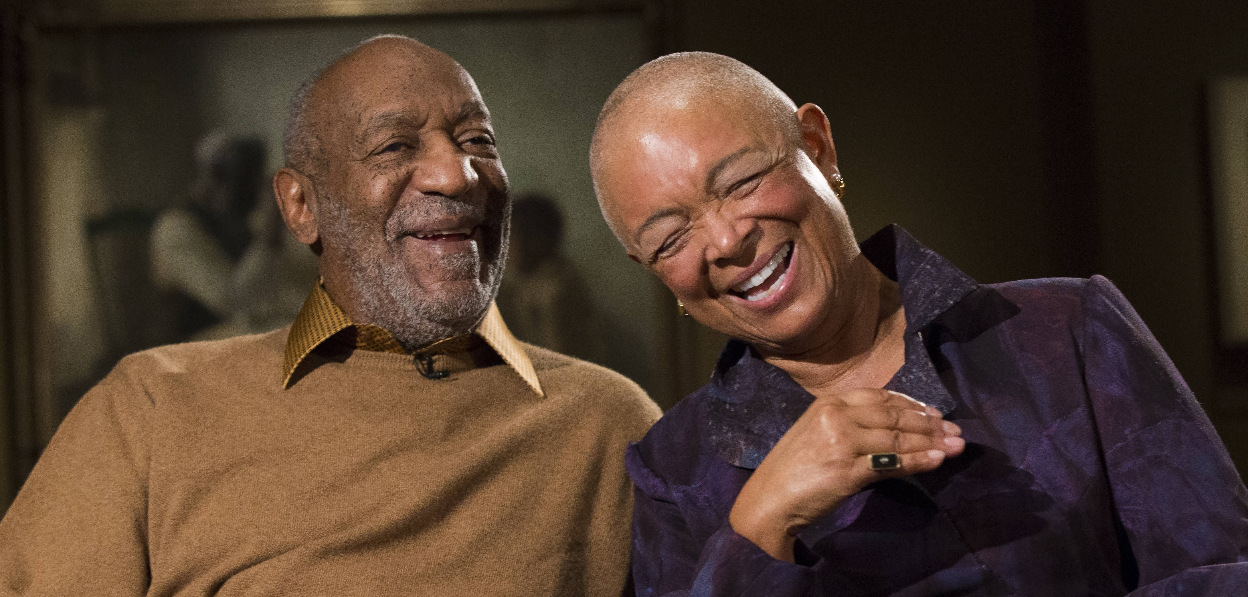 bill cosby has support of two wives american urban radio