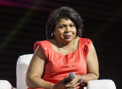 April Ryan seen at the ESSENCE Empowerment Experience at Ernest N. Morial Convention Center on Friday, June 30, 2017, in New Orleans. (Photo by Amy Harris/Invision/AP)