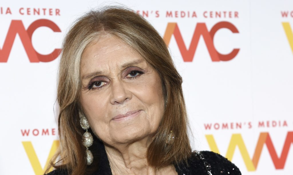 The Women's Media Center co-founder Gloria Steinem attend the 2017 Women's Media Awards at Capitale on Thursday, Oct. 26, 2017, in New York. (Photo by Evan Agostini/Invision/AP)