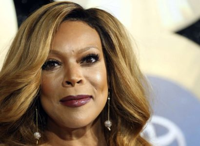 FILE - In this Nov. 7, 2014, file photo, TV talk show host Wendy Williams arrives during the 2014 Soul Train Awards in Las Vegas.  Williams gave viewers a scare Tuesday morning when she passed out on-the-air during a broadcast of her syndicated chat show. as introducing a segment while wearing a Statue of Liberty Halloween costume when her speech suddenly became slurred. She began shaking and seconds later collapsed on the stage. Stagehands rushed in to help her while the crowd screamed. (Photo by Omar Vega/Invision/AP, File)