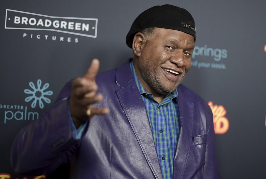 "George Wallace attends the LA Premiere of ""Just Getting Started"" at ArcLight Hollywood on Thursday, Dec. 7, 2017, in Los Angeles. (Photo by Richard Shotwell/Invision/AP)"