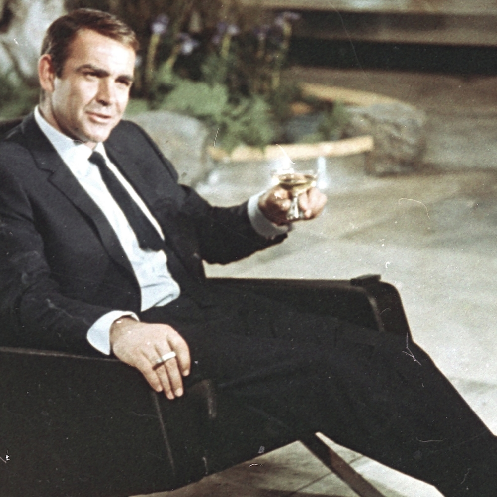 "FILE - In this file photo dated July 29, 1966, actor Sean Connery is shown during filming the James Bond movie ""You Only Live Twice,"" on location in Tokyo, Japan. Scottish actor Sean Connery, considered by many to have been the best James Bond, has died aged 90, according to an announcement from his family.  (AP Photo, FILE)"